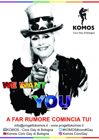A far rumore comincia tu! We Want You