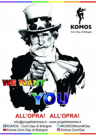 All'opra, all'opra! We Want You